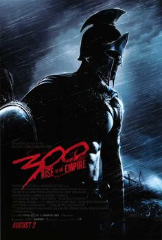 After the release of the third Man of Steel trailer, director Zack Snyder keeps busy, unveils first poster for Rise of an Empire which he co-wrote and produced after having directed the first 300 film. Great Movies, New Movies, Movies To Watch, Movies Online, Film Movie, 300 Movie, Empire Movie, Film Mythique, Funny Movies