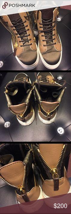 Unisex Giuseppe zanotti sneakers Used great condition Giuseppe Zanotti Shoes Sneakers