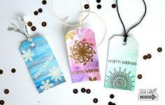 Lisa's Creative Niche: Mini Snowflake Tags