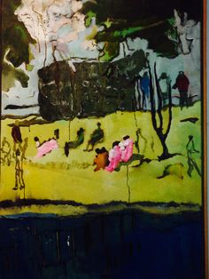 Peter Doig No Foreign Lands Montreal Museum of Fine Arts 25th January 2014 - 4th May 2014 Peter Doig