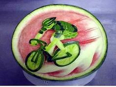 Guests aboard some of Italy's finest Mediterranean cruise ships are coming home with amazing photos, not not of the Parthenon, the Pyramids or Pompeii -- but of the popular art of carving watermelons into delicious works of art!