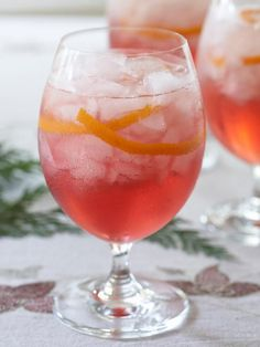 Get Cranberry Spritzer Recipe from Food Network