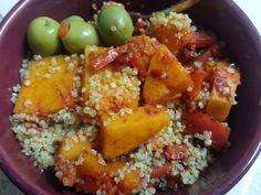 Bay Area Crisi: Harissa Butternut Squash with Quinoa