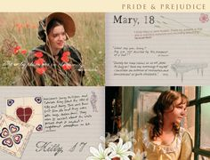 Pride and Prejudice 2005  - online companion - Mary and Kitty Bennet