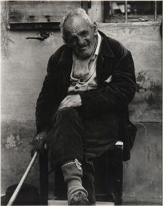 ~  The Poor House, Luzzara, Italy, 1953, by Paul Strand, Ximena