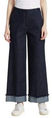 Cinq à Sept - Tous Les Jours Gemma Denim Pants Elizabeth And James, Wide Leg Jeans, Denim Pants, Legs, Women, Fashion, D Day, Moda
