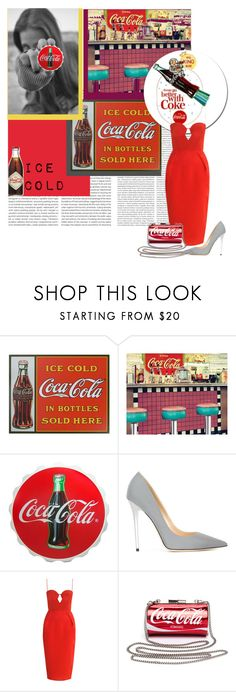 """""""Soft Drinks : Coca Cola"""" by seril ❤ liked on Polyvore featuring Fountain, Jimmy Choo and Zimmermann"""