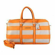 92964c1b2d12 Michael Kors Striped Travel Medium Orange Grey Satchels Outlet Michael Kors  Satchel, Michael Kors Handbags