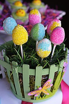 Easter Sweets Table - The Hopeless Housewife® - The Hopeless Housewife