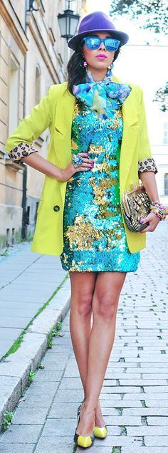 Sea Of Sequins by Macademian Girl