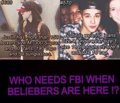 Justin Bieber... Haha!