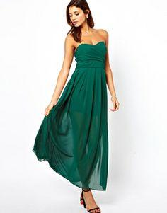 Image 4 ofTFNC Maxi Dress With Thigh Split