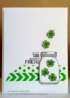 Good Luck Jar card