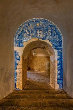 Azulejos, Portuguese Tiles, S. Filipe Castelo - Setubal - Portugal
