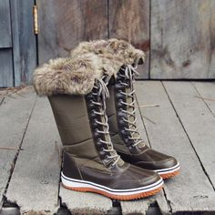 The Icelandic Snow Boots: Alternate View #1