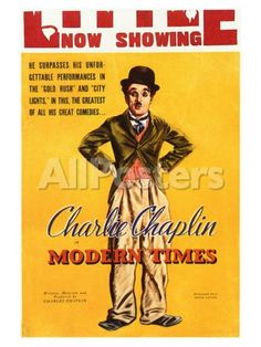 Modern Times, 1936 Movies Art Print - 46 x 61 cm