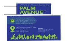 City of SD Palm Avenue Revitalization Plan: Open House - February 10 | Dig Imperial Beach