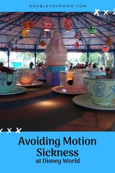 Motion Sickness at Disney World: How to Avoid Motion Sensitivity Disney World tips and tricks for avoid motion sickness at the Disney parks. Disney World planning to make your vacation better Disney World Resorts, Disney World News, Disney World Parks, Disney World Planning, Disney World Tips And Tricks, Disney Vacations, Disney Trips, Disney Elephant, Dumbo The Flying Elephant