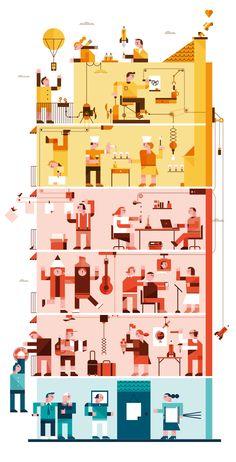 Romualdo Faura / Editorial Illustrations