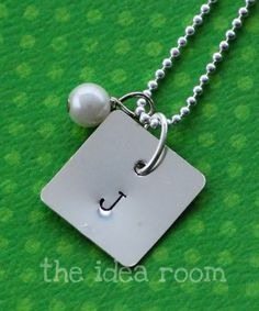 How to make your own stamped jewelry.  Gonna save a lot of money with this one