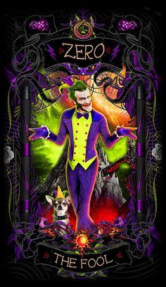 Tarot The Fool, Tarot Cards Major Arcana, Tarot Card Meanings, Angel Cards, Arte Horror, Psychobilly, Oracle Cards, Tarot Decks, Archetypes