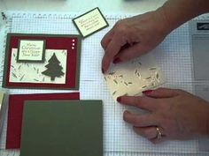 Layered Embossed Vellum Card #3 in Series - YouTube
