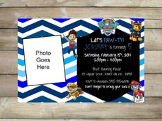 Paw Patrol Necklace | Joint birthday parties, Paw patrol birthday ...