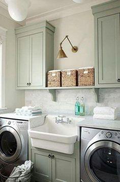 41 Wunderschöne Inspirierende Waschküche Schränke Ideen zu berücksichtigen 34