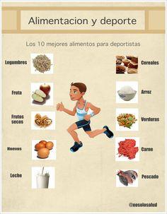 Alimentacion saludable para adolescentes deportistas