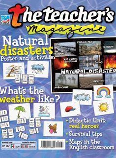 The Teacher´s Magazine Nº 125 Teacher Magazine, World Languages, English Classroom, Real Hero, Survival Tips, The Unit, Activities, Education, Magazines