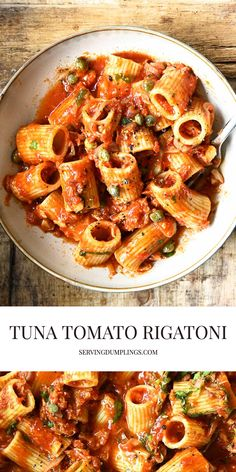 Cooking Tomatoes, Best Seafood Recipes, Pasta Shapes, Rigatoni, Latest Recipe, Food Inspiration, Food Videos, Good Food, Favorite Recipes