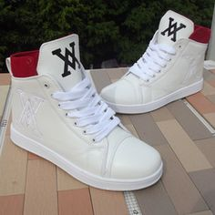 super popular 515dd e6906 Online Shop New Arrival Fashion Men s High Style Shoes Male Special Logo  Sneakers Black White Hip