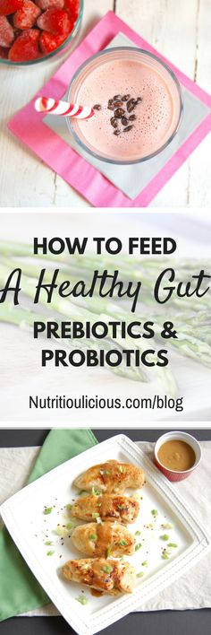 Learn all about prebiotics and probiotics, why they are important, and how you can get them in your diet! @jlevinsonrd