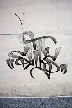 Scriptffiti in Streetart