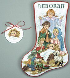 This is the one for Emily...Cross Stitch Christmas Stockings