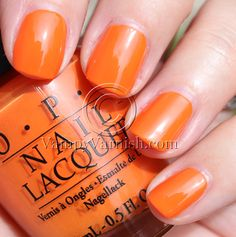 OPI Flit In A Bit OPI Summer Flutter Collection Swatches & Review