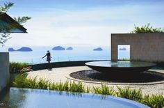 View of Koh Samui's fabled five islands from the Arrival Lobby #conradkohsamui