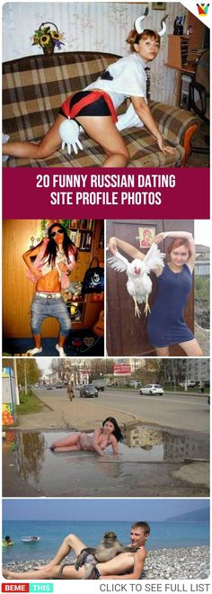 20 Most Amusing Russian Dating Site Profile Photos #russian #datingsites #funnypictures #weird #bizarre #funnyprofilepics #humor #photos #funnypictures #humour #bemethis