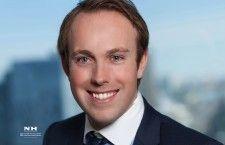 Ryan Hillier, président de la Jeune Chambre de commerce de Montréal pour le mandat 2014-2015 dès le 1er juillet