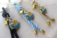 10 pcs Nautical Favors for Boy, for all your guests and the event will be in their mind for long. The cord color on the pictures are number Beige), Blue) and Blue). The total length of the favor is 11 inch The cross is inch, the enameled sail Baptism Boy Favors, Christening Favors, Communion Favors, Baby Shower Favors, Nautical Baptism, Nautical Favors, Flamingo Gifts, Flamingo Party, Unique Jewelry