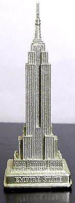 6 Inch Detailed Gold Empire State Building Replica Statue    eBay