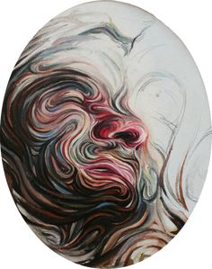 Swirling Lines Form Psychedelic Portraits - My Modern Metropolis