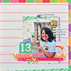 Scrapbook pages, cards, embellishments and more featuring Scrapbook Generation's exclusive sketches. Featured manufacturers: My Favorite Things and Paper House Productions. Birthday Scrapbook Pages, Scrapbook Generation, 13th Birthday, Thing 1, My Favorite Things, Create, Cover, Happy, Cards
