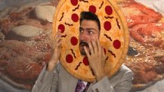 reaction loop pizza scared