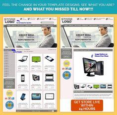 Smartphone Theme EBay Store EBay Custom Listing Template Design - Custom ebay store template