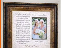 Wedding Quotes :Mother of the Bride Wedding Day Gifts for Parents of the Bride from Daughter Thank You Gift For Parents, Wedding Gifts For Parents, Wedding Thank You Gifts, Bride Gifts, Gifts For Mom, Gift Wedding, Mother Of The Groom Gifts, Father Of The Bride, Mother Gifts