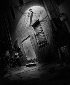 Urban night photography by Eric Gustafson Dark Photography, Night Photography, Creative Photography, Black And White Photography, Amazing Photography, Street Photography, Photography Ideas, Black N White Images, White Art