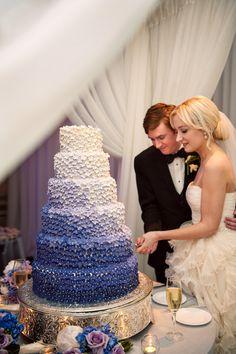 This amazing ombre cake!!