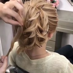 Easy Hairstyles For Long Hair Fast Looks For – Long Hair Can Be Fabulous And It Can Definitely Get You A Lot Of Attention If Youre Bored With It Howev… - myeasyidea sites Easy Hairstyles For Long Hair, Bride Hairstyles, Down Hairstyles, Longer Hair Faster, Hair Upstyles, Hair Videos, Bridal Hair, Short Hair Styles, Hair Cuts