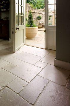 St Arbois Tumbled Limestone. Stone Kitchen FloorKitchen Floor TilesKitchen  FlooringLarge ...